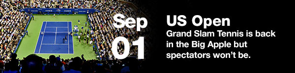 U.S Open Tennis - September 1 - 14 (Australia date)
