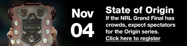 State of Origin - November 04 (Australia Date)
