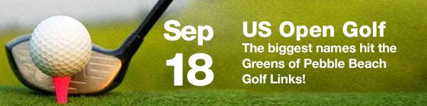 Us Open Golf - September 18 (Australia Date)