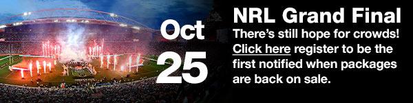 NRL Grand Final- October 04 (Australia Date)