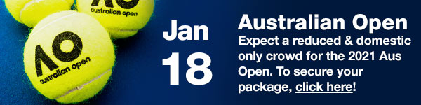 Australian Open - 18 January, 2020 (Australia Date)